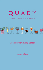 Quady cocktails for every season cover page.