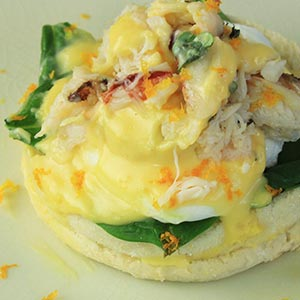 Eggs Benedict is an example appetizer