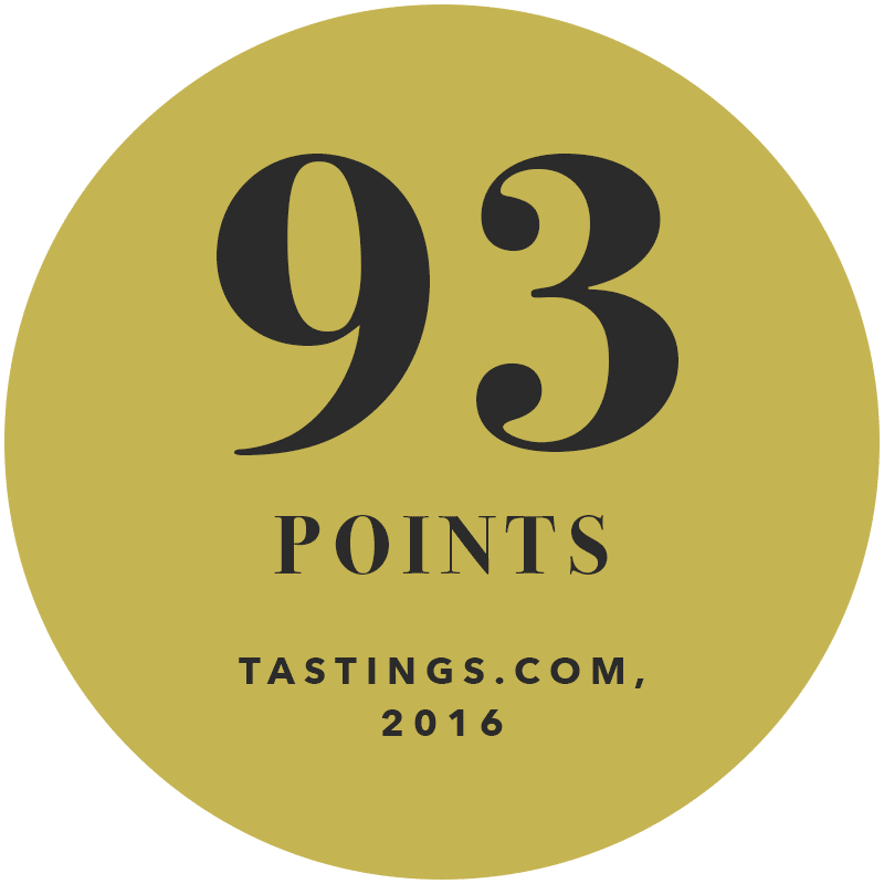 93 Points Tasting.com 2016