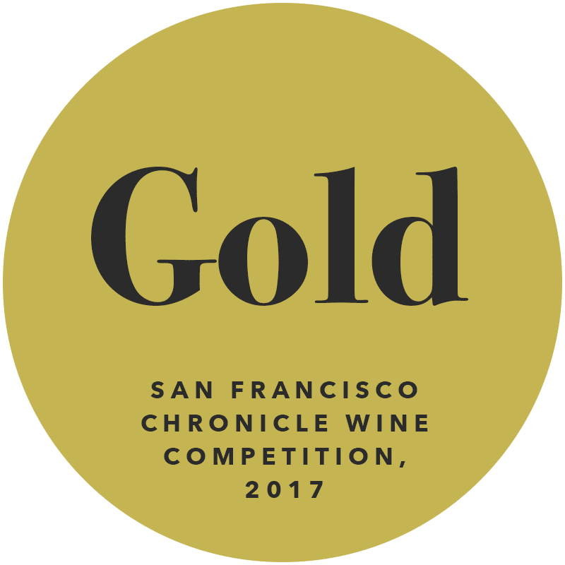 Gold San Francisco Chronicle Wine Competition 2017