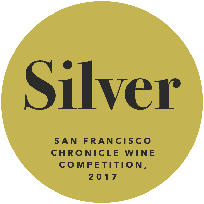 Silver San Francisco Chronicle Wine Competition 2017