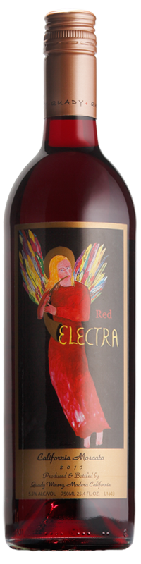 Quady Red Electra Moscato Sweet Wine