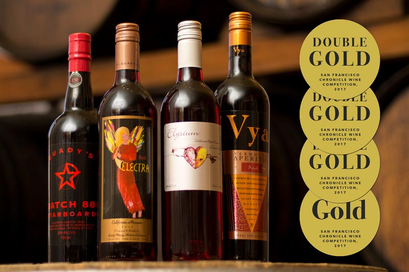 A Gold Medal Winning Wine Club Release at Quady Winery