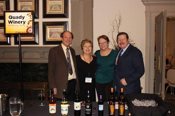Quady Winery Honorary Winery of the Year Award 2017 VinNEBRASKA