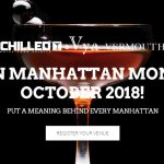 Manhattan Month Manhattan Cocktail Celebration Bars and Restaurants October