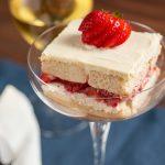 Creamy Strawbery Electra Moscato Wine Torte Dessert Recipe Pairing