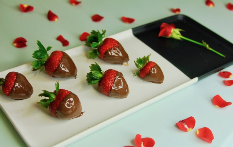 chocolate covered strawberries valentines day elysium black muscat