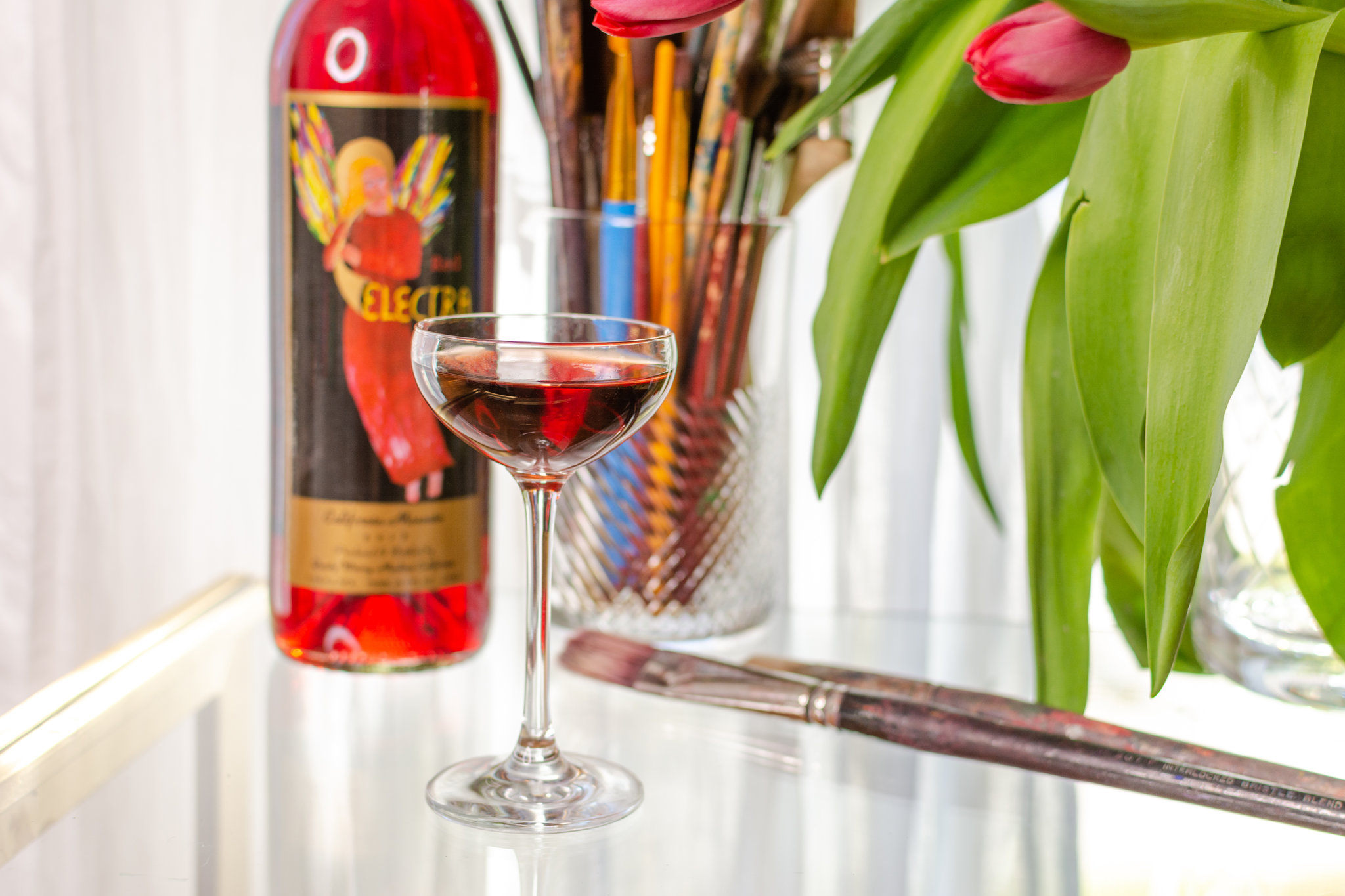 Quady Red Electra Moscato Cocktail vodka