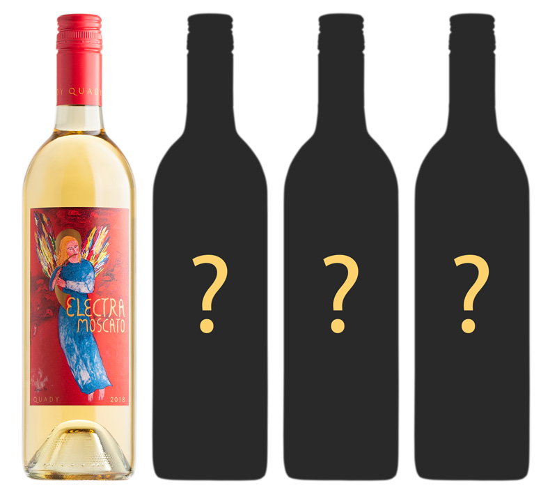 Electra Moscato Quady Winery Muscats Sweet Wine Label Design Changes