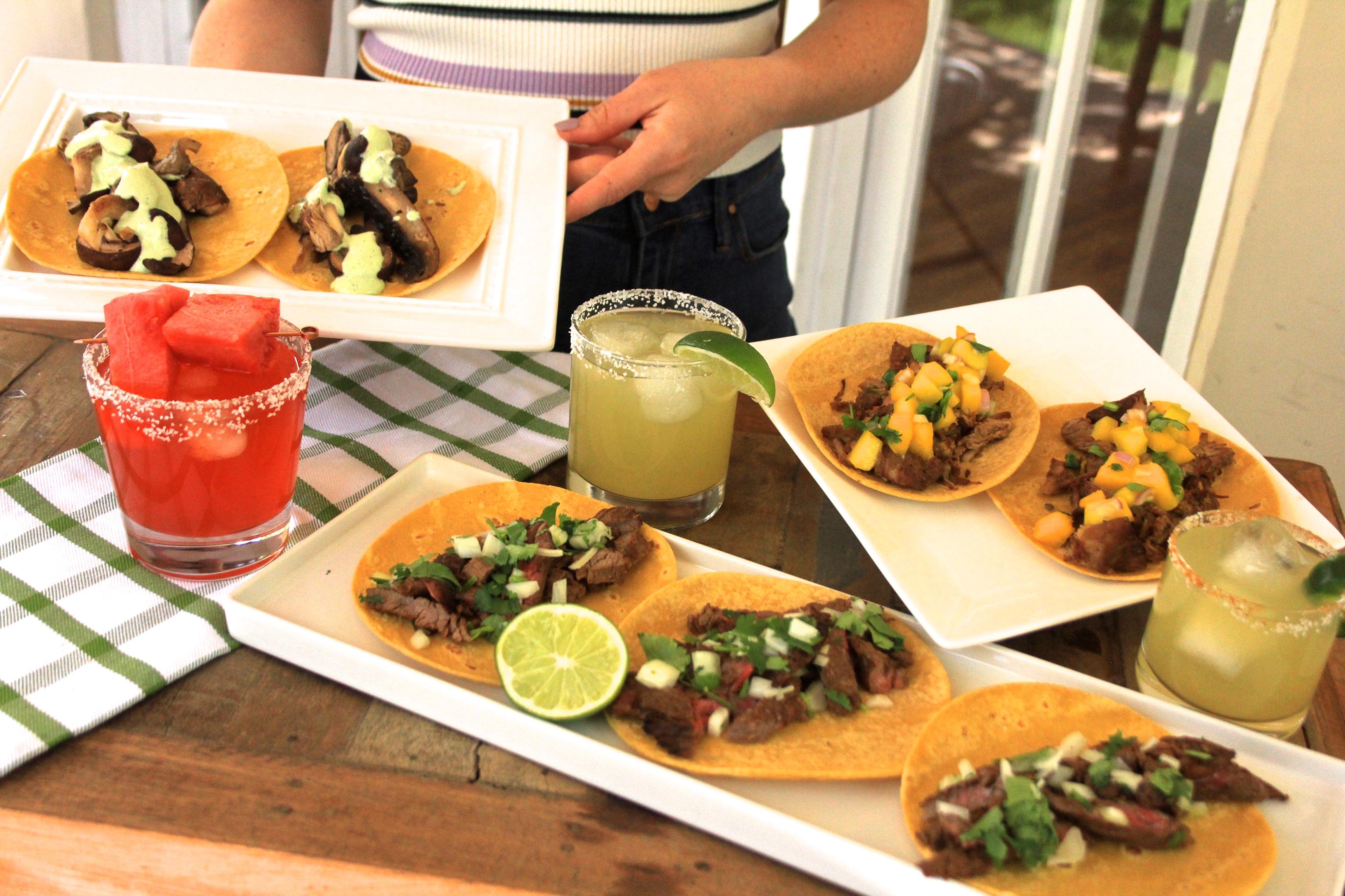 Cinco de Mayo Taco Recipe Margarita recipe Essensia Orange Muscat Wine Red Electra Moscato