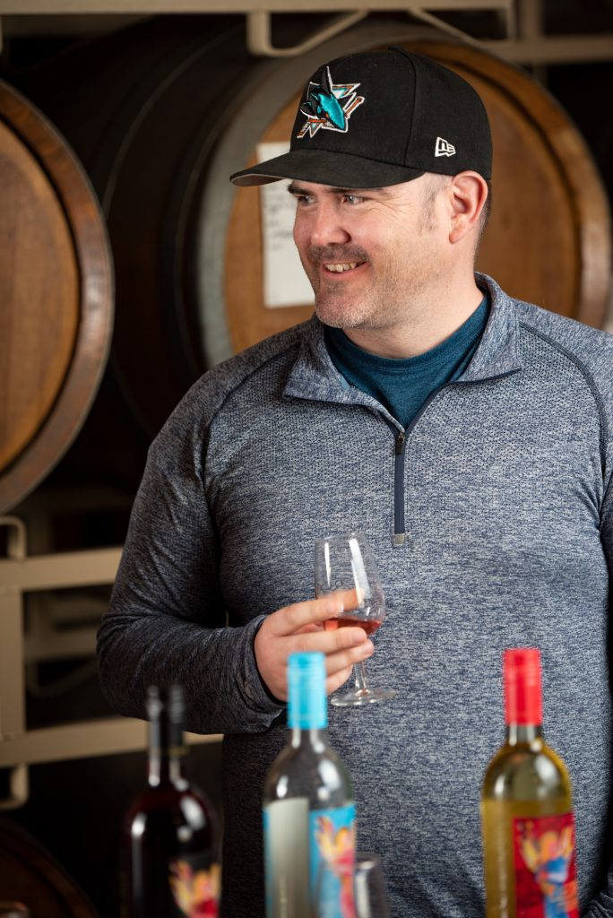 Portrait of Ray George, the Freight Coordinator and Production Specialist at Quady Winery