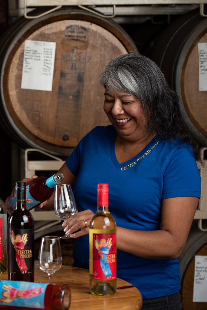 Portrait of Cynthia Leon, the Sales Support Admin at Quady Winery