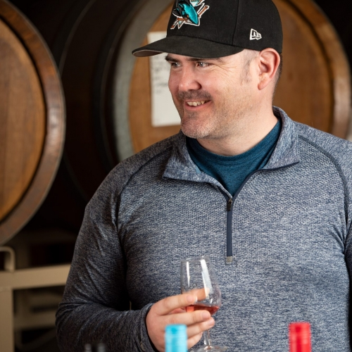 Ray George, Freight Coordinator and Production Specialist for Quady Winery