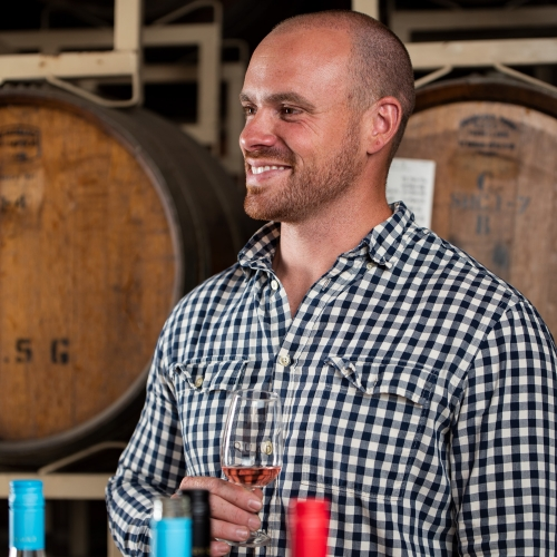 Colin Hough, Marketing Manager for Quady Winery